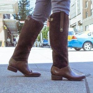 Sam Edelman Pembrooke Tall Riding Boots Brown